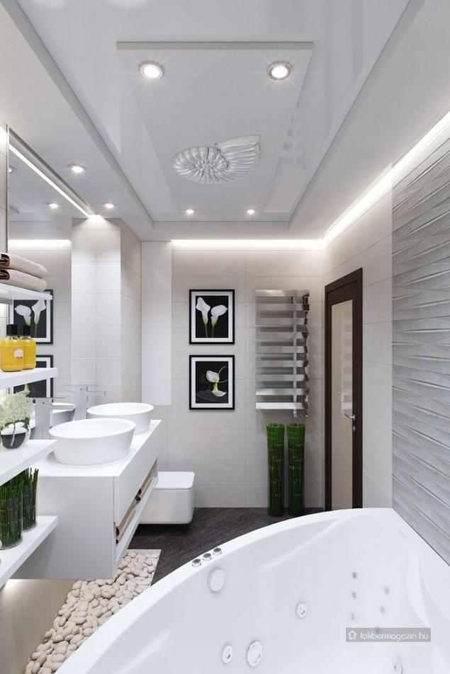 Kis fürdőszoba berendezés és dekoráció ötletek - 7 fürdő ...