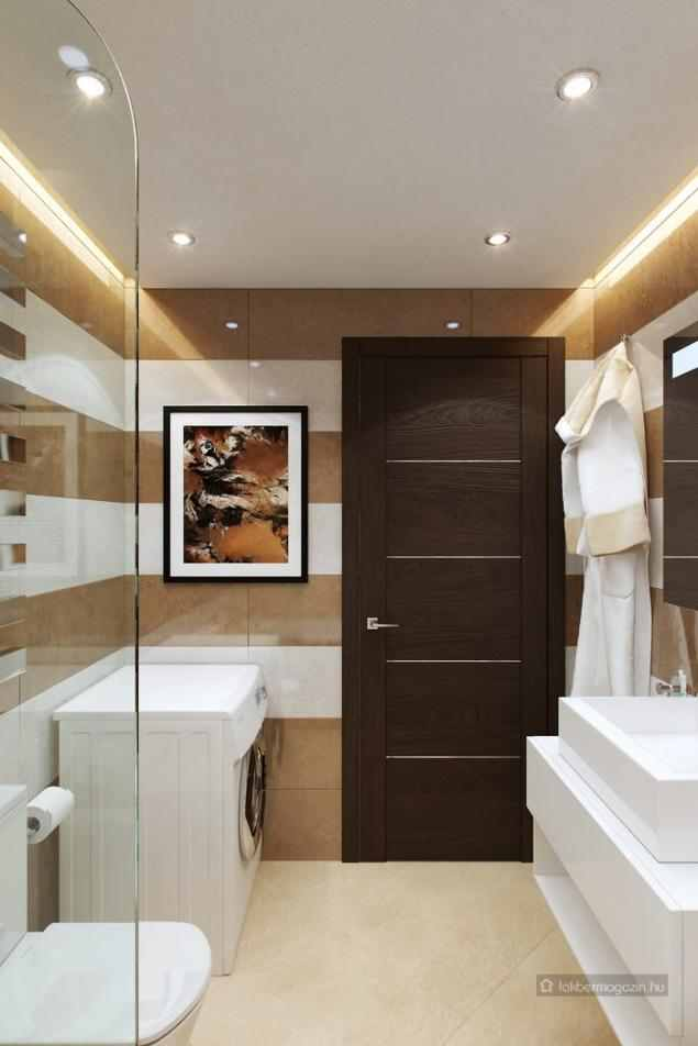 Kis fürdőszoba berendezés és dekoráció ötletek - 7 fürdő látványtervekkel  LED Master