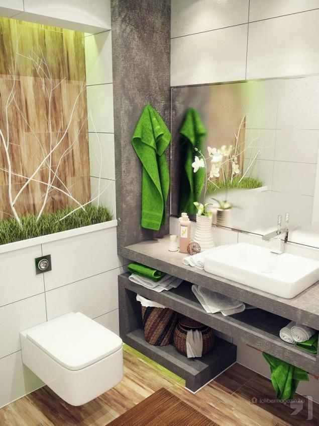 15 gyönyörű kis fürdőszoba kialakítás