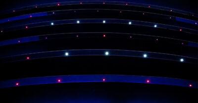 Kék LED szalagok