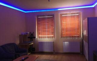 Hibásan felhelyezett LED szalag