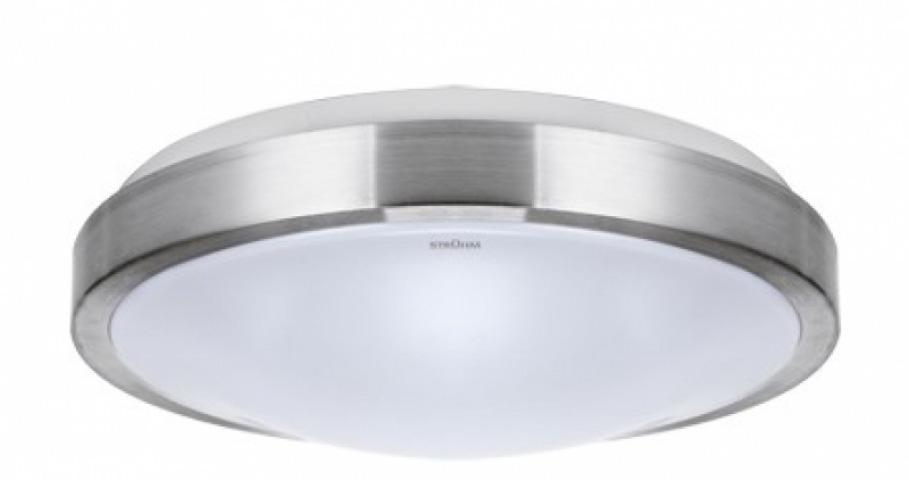 Strühm Alex 18 W-os ø330 mm kerek natúr fehér mennyezeti lámpa IP44-es védettségű